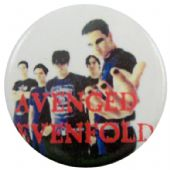 Avenged Sevenfold - 'Group White' Button Badge